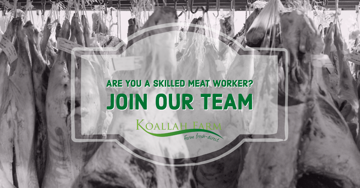 Koallah Farm Skilled Meat Workers Needed